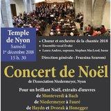Concert de Noël de l'Association Niedermeyer