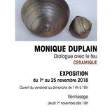 Exposition Céramique Monique Duplain