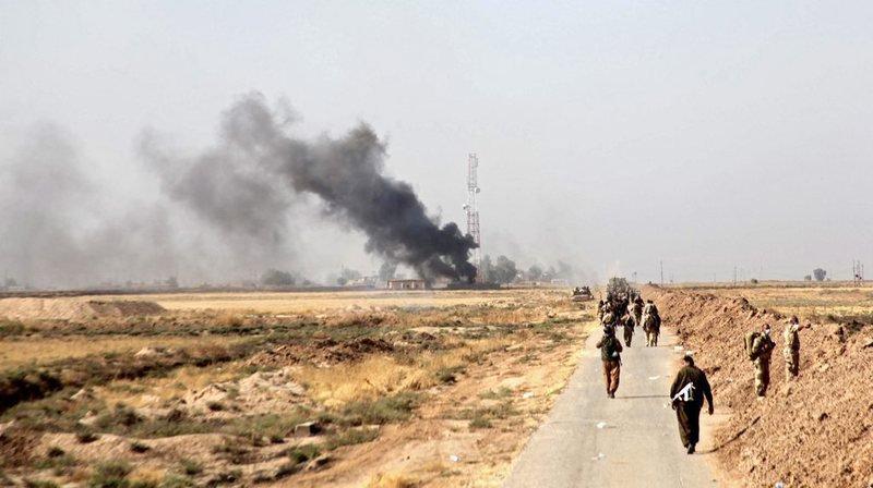 Les fosses se trouvent toutes dans les régions de Ninive, qui rassemble près de la moitié d'entre eux, Kirkouk (photo), Salaheddine et al-Anbar.