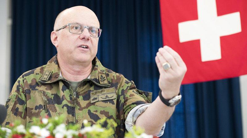 Le chef de l'armée Philippe Rebord a été épinglé pour la virée qu'il a organisée en Valais.