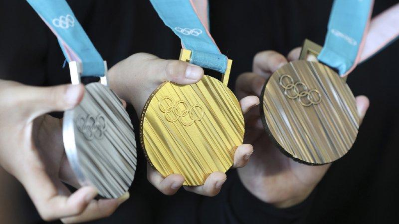 Jeux olympiques 2020: les médailles faites à partir de smartphones et d'ordinateurs recyclés à Tokyo