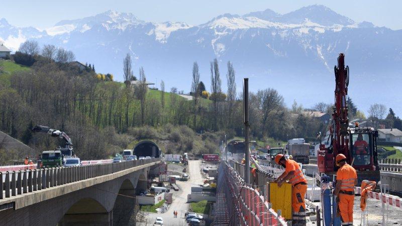 Le réseau routier, vieillissant et très sollicité, nécessite des travaux réguliers.