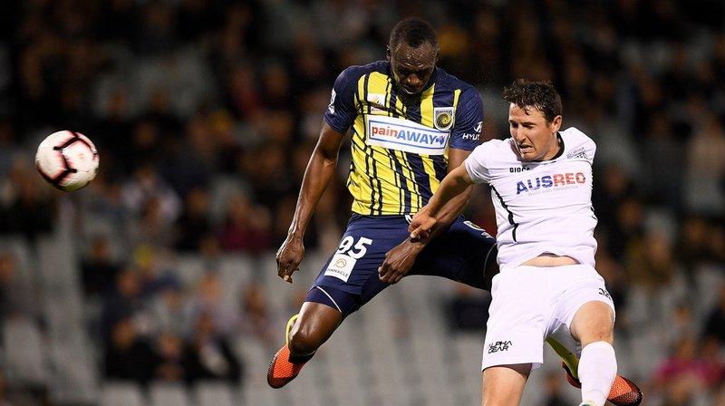 Australie: Usain Bolt ne sera pas footballeur chez les Central Coast Mariners