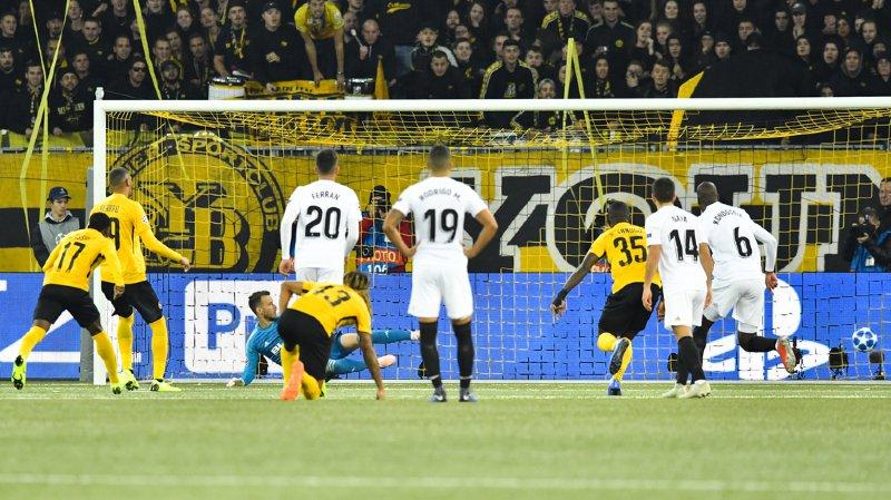 Foot - Ligue des Champions: Young Boys et Valence font match nul 1 à 1, premier point pour YB
