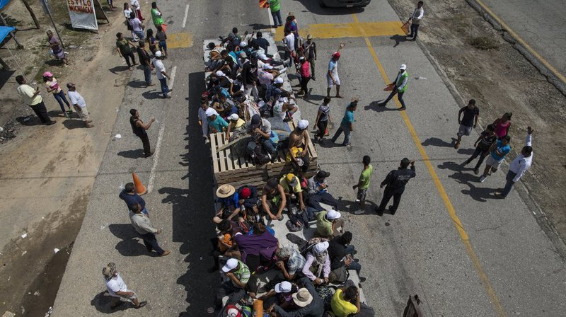 800 militaires déployés par le Pentagone à la frontière avec le Mexique