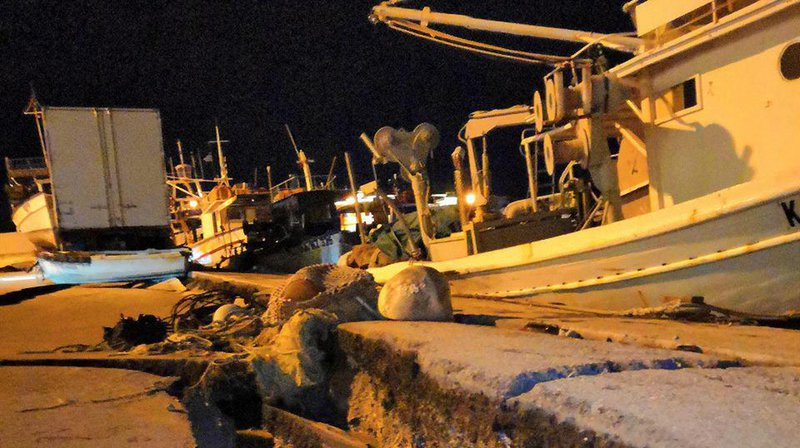 Grèce: le puissant séisme de magnitude 6,4 a fait deux blessés