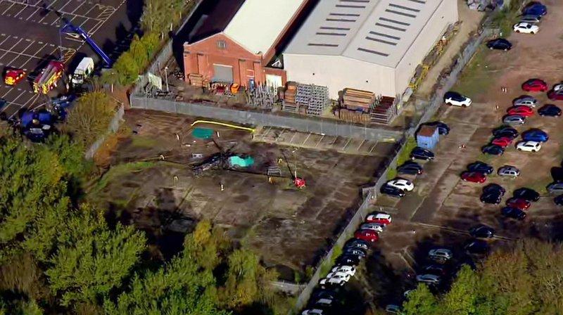 Leicester: l'hélicoptèredu président du club s'écrase près du stade