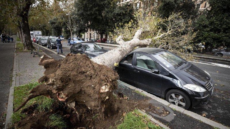 Tempête en Italie: 5 morts dans les intempéries, des routes coupées et des écoles fermées