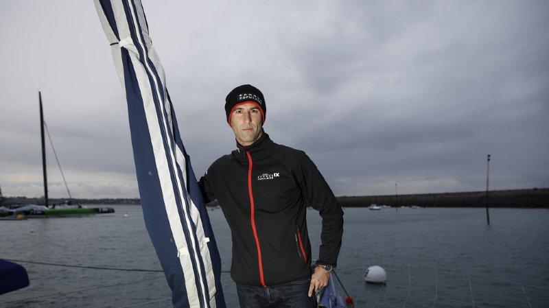 Route du Rhum: le bateau du Français Armel Le Cléac'h a chaviré