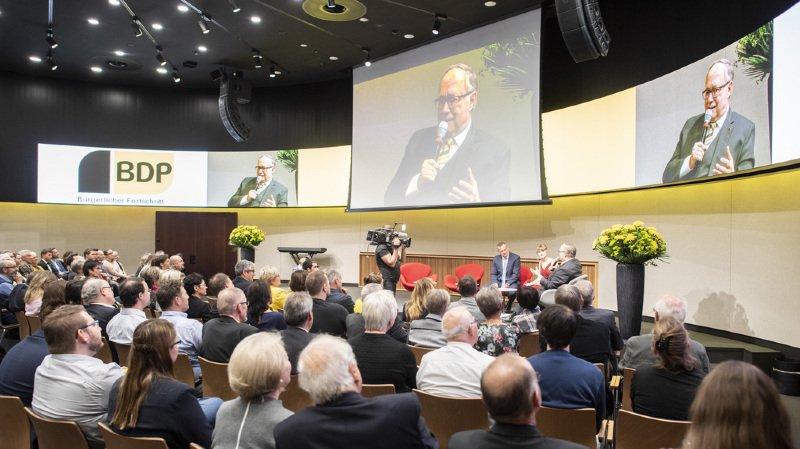 La formation du PBD était directement liée à la non réélection, le 12 décembre 2007, du conseiller fédéral UDC Christoph Blocher.