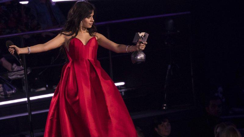 Musique: Camila Cabello, grande gagnante des MTV Europe Music Awards