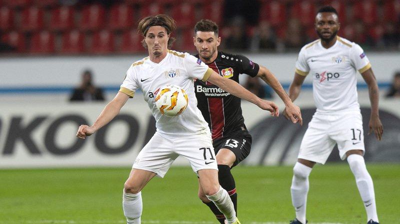 Football - Europa League: malgré une défaite à Leverkusen, Zurich obtient son ticket pour les 16e de finale