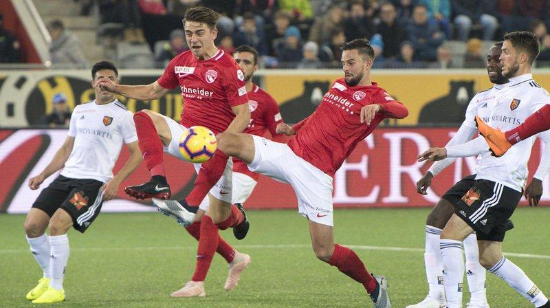 Après avoir été mené 2-0, le FC Thoune s'est finalement imposé 4-2 face au FC Bâle.