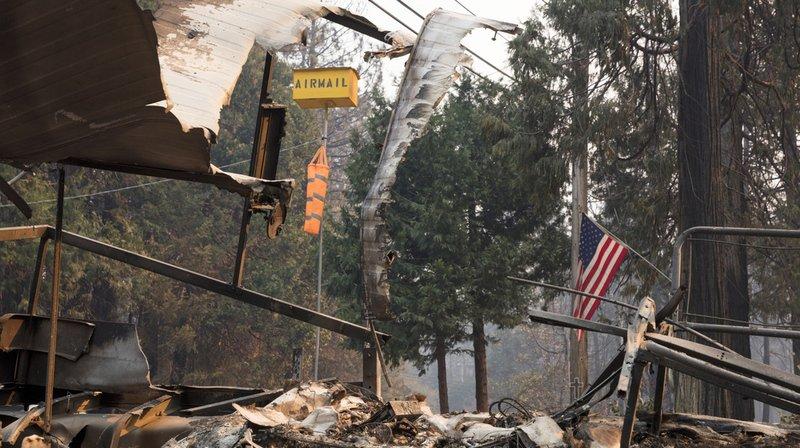 Incendies historiques en Californie: au moins 31 morts et 228 disparus