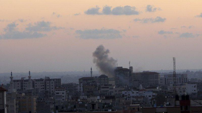 La bande de Gaza est en proie lundi soir à une nouvelle poussée de fièvre.