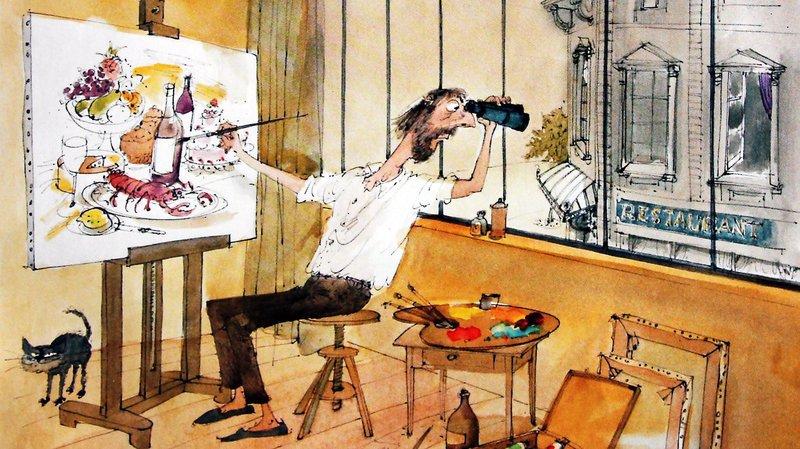 Le dessinateur lausannois André Paul est décédé