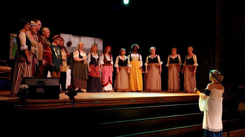 Le rideau va se refermer sur la chorale Chante-Jura