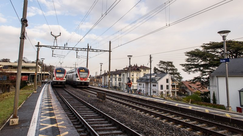 La gare de Rolle sera modernisée.