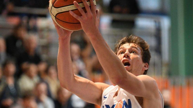 Benoit Hayman, avec 13 points et le shoot de la gagne, a été déterminant dans le succès nyonnais.