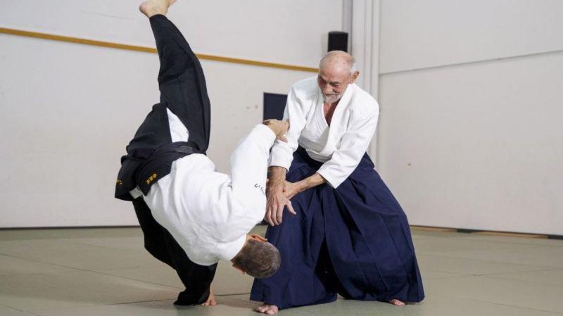 Bernard Caloz, l'aïkido dans la peau