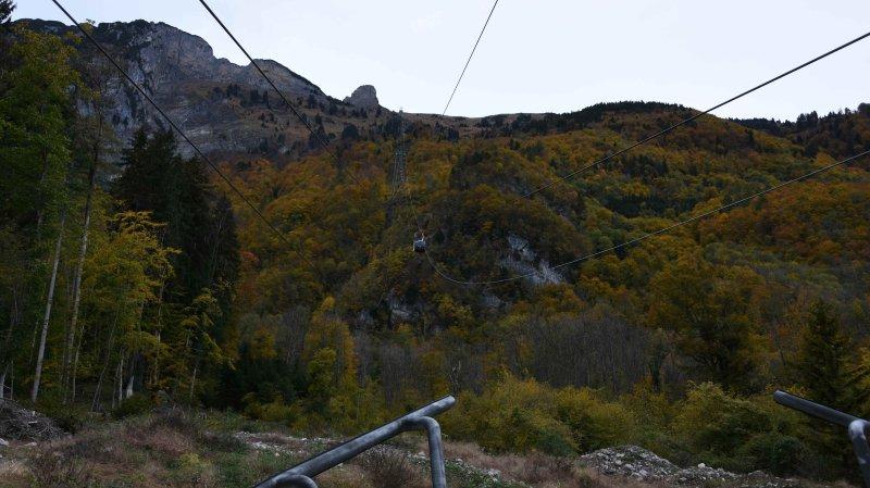 Saint-Gall: une télécabine chute dans le vide à Frümsen, 8 personnes évacuées