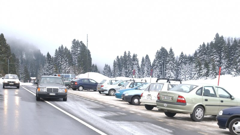 Question du jour: le nouveau parking de la Givrine sera-t-il prêt pour cet hiver?