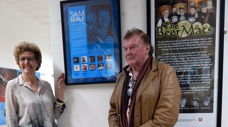 La mémoire du «Nyonnais» Sam Seale honorée chez lui, dans la banlieue de Dublin