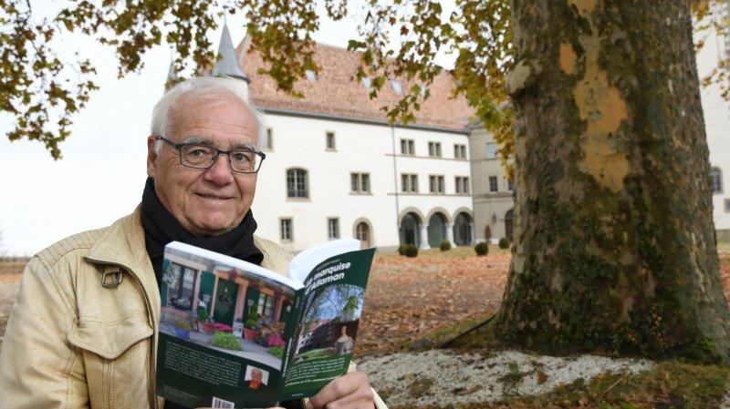 Dans son dernier roman, le Perrolan Jean-Robert Probst ressuscite la marquise du château d'Allaman