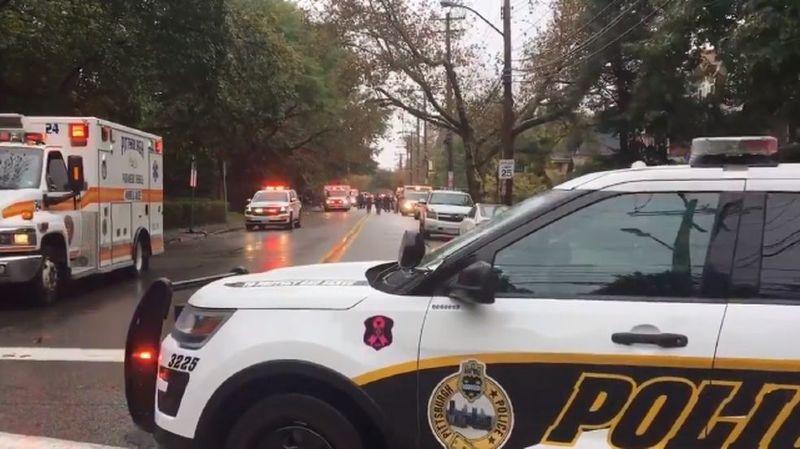 Fusillade: 11 morts et 6 blessés près d'une synagogue à Pittsburgh (Etats-Unis)