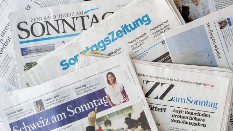 Revue de presse: armes suisses dans les guerres, scandale CarPostal, sexisme sous la Coupole,… les titres de ce dimanche