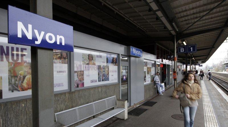 CFF: projets d'améliorations entre Genève et Lausanne, et de réaménagements des gares de Nyon et Morges