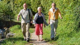 Les randonneurs de La Côte marchent sur les pas des Huguenots