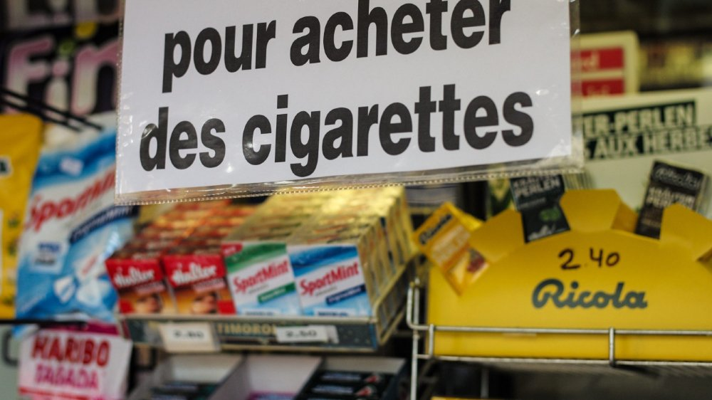 La pub sur le tabac dans  les mains d'élus «vulnérables»