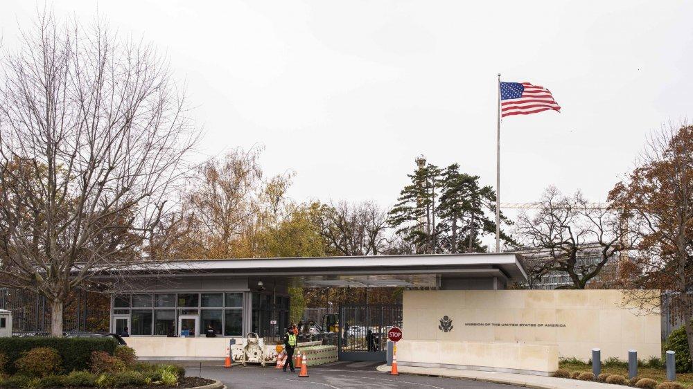La commune de Pregny-Chambésy, dans le canton de Genève, accueille la mission des Etats-Unis auprès de l'ONU.