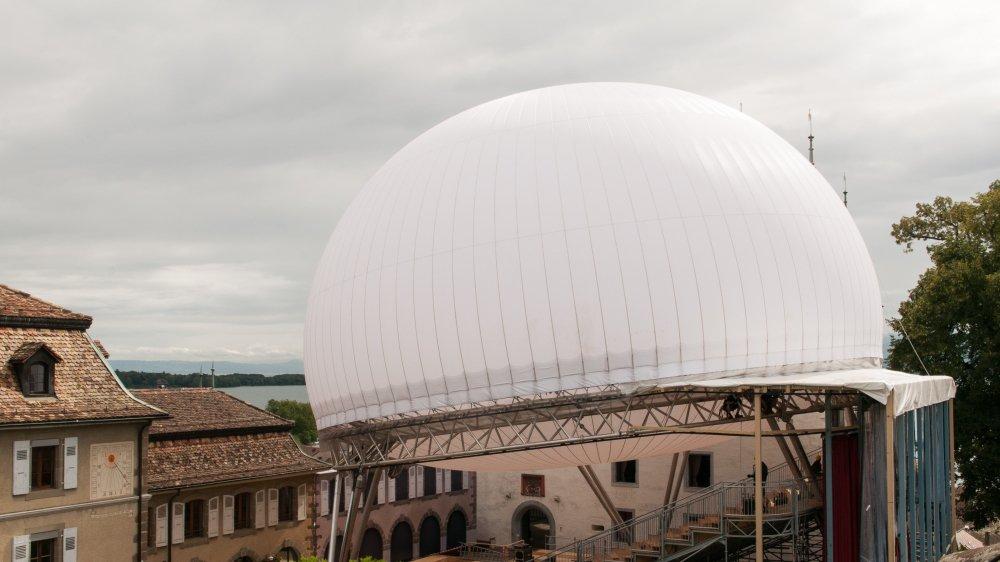 La structure du festival Luna, l'un des dossiers marquants de la syndicature de Daniel Rossellat.