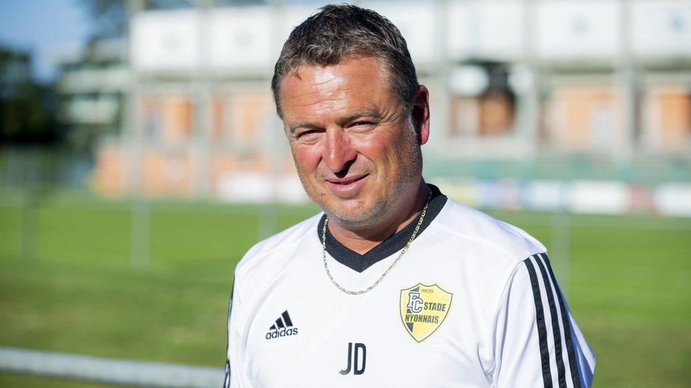 John Dragani, le coach du Stade Nyonnais, se méfie de Wohlen.