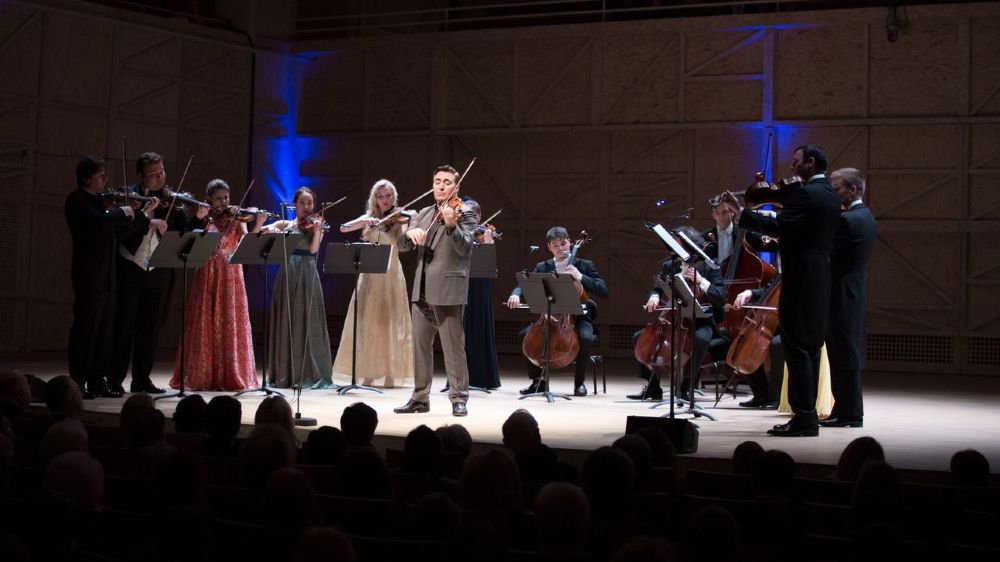 Les Solistes de l'Académie Menuhin seront au Rosey Concert Hall ce dimanche.