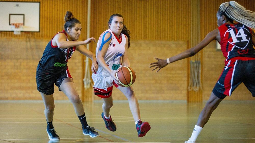 Aline Laydu et DEL Basket n'arrive décidément pas à enrayer cette spirale de défaites.