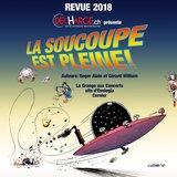 Revue 2018 de La Décharge: la soucoupe est pleine!