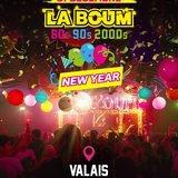 New Year - La Boum du Valais : 80's 90's 2000's !