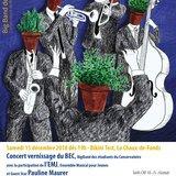 Concert du BEC avec l'EMJ et Pauline Maurer
