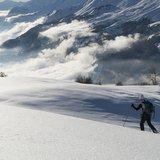 Soirée ski de randonnée à Merbé