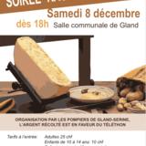 Téléthon 2018 - Soirée raclette à gogo