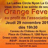"""Soirée """"Orange Fever"""""""