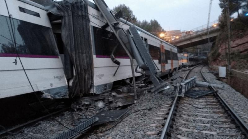Espagne: un train déraille près de Barcelone, faisant un mort et 49 blessés