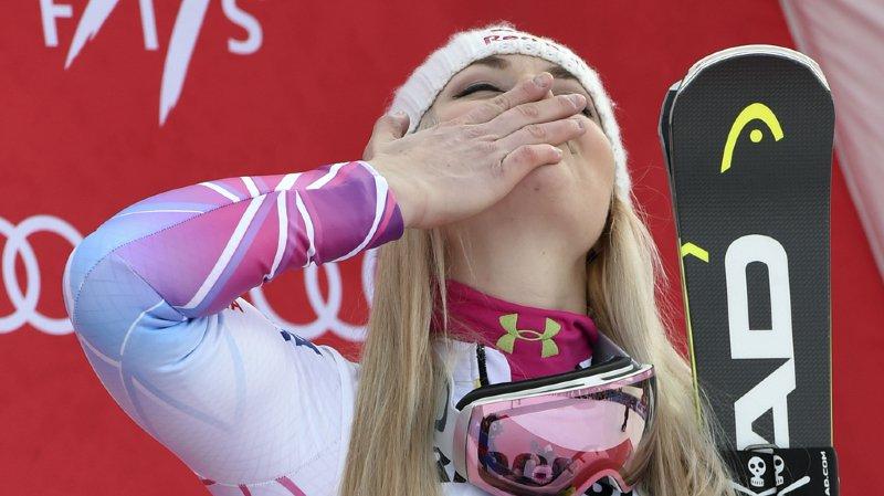 Suite à une entorse au genou, Lindsey Vonn ne participera pas aux épreuves de vitesse à Lake Louise ce weekend.
