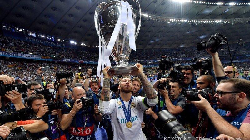 Football: Ramos a pris des corticoïdes avant la finale de la Ligue des Champions, il sort blanchi