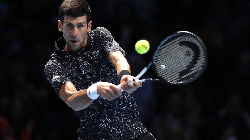 Face à Zverev, Djokovic s'est imposé 6-4 6-1.