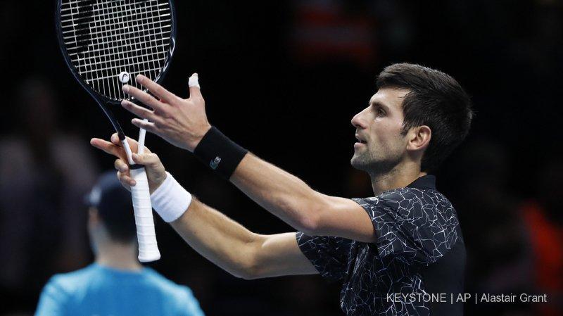Tennis - Masters de Londres: Djokovic remporte un 3e succès face à Cilic et reste invaincu