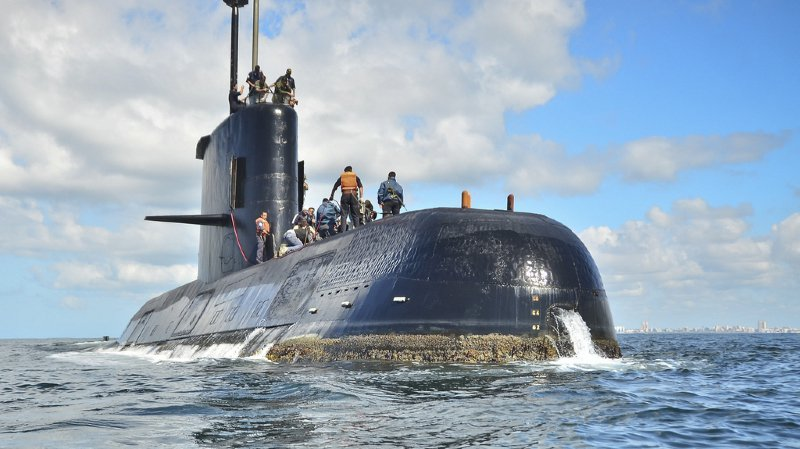 Argentine: l'épave du sous-marin San Juan découverte un an après sa disparition